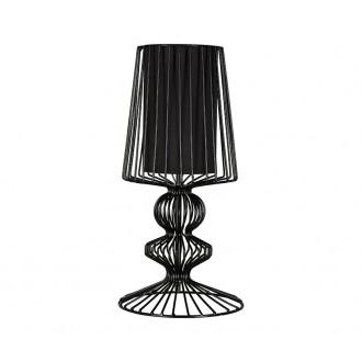 NOWODVORSKI 5411 | Aveiro Nowodvorski stolové svietidlo 43cm prepínač 1x E27 čierna