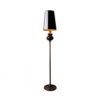 NOWODVORSKI 5755 | Alaska-Black Nowodvorski stojaté svietidlo 175cm prepínač 1x E27 lesklá čierna