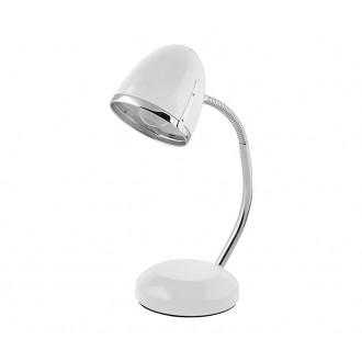 NOWODVORSKI 5794 | Pocatello Nowodvorski stolové svietidlo 36cm prepínač flexibilné 1x E27 biela, chróm
