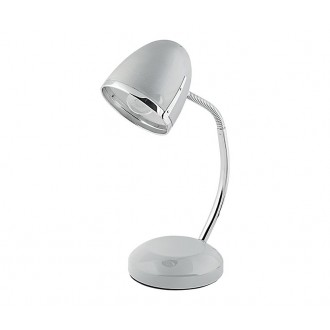 NOWODVORSKI 5795 | Pocatello Nowodvorski stolové svietidlo 36cm prepínač flexibilné 1x E27 strieborný, chróm