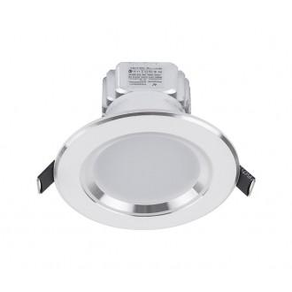 NOWODVORSKI 5954 | Ceiling-LED Nowodvorski zabudovateľné svietidlo Ø100mm 1x LED 300lm 4000K biela