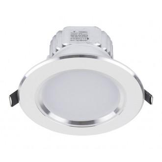 NOWODVORSKI 5956 | Ceiling-LED Nowodvorski zabudovateľné svietidlo Ø120mm 1x LED 700lm 4000K biela