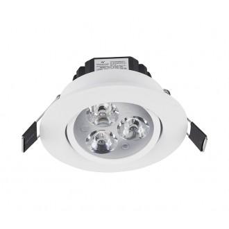 NOWODVORSKI 5957 | Ceiling_LED Nowodvorski zabudovateľné svietidlo sklápacie Ø85mm 3x LED 300lm 4000K biela