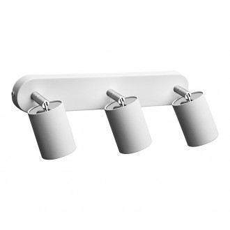 NOWODVORSKI 6016 | Nowodvorski spot svietidlo otočné prvky 3x GU10 biela