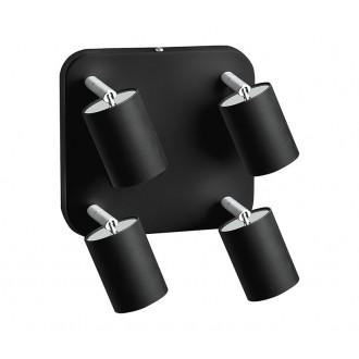 NOWODVORSKI 6022 | Nowodvorski spot svietidlo otočné prvky 4x GU10 čierna
