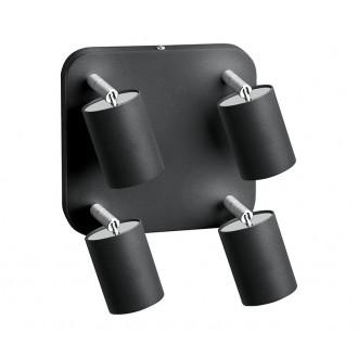 NOWODVORSKI 6137 | Nowodvorski spot svietidlo otočné prvky 4x GU10 grafit