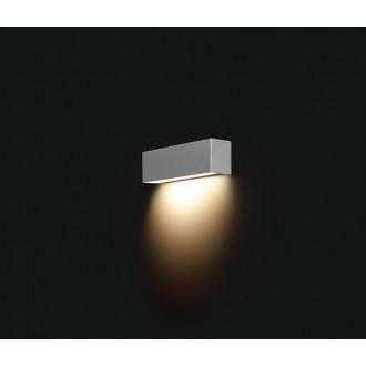 NOWODVORSKI 6354 | Straight Nowodvorski stenové svietidlo 1x E14 strieborný