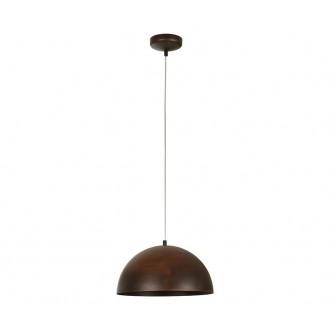 NOWODVORSKI 6367 | Hemisphere-Rust Nowodvorski visiace svietidlo 1x E27 hrdzavo hnedé