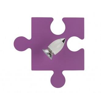 NOWODVORSKI 6383 | Puzzle Nowodvorski stenové svietidlo otočné prvky 1x GU10 fialová, biela, chróm