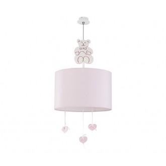 NOWODVORSKI 6615 | Honey Nowodvorski visiace svietidlo 1x E27 ružové, biela