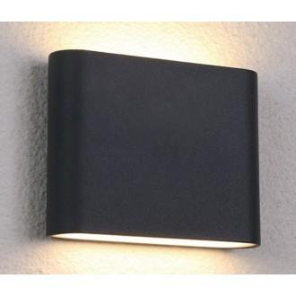 NOWODVORSKI 6775 | Semi Nowodvorski stenové svietidlo 36x LED 242lm 3000K IP54 čierna