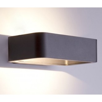 NOWODVORSKI 6776 | Muno Nowodvorski stenové svietidlo 1x LED 242lm 3000K IP54 čierna