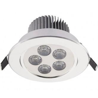NOWODVORSKI 6822 | Downlight-LED Nowodvorski zabudovateľné svietidlo sklápacie Ø108mm 1x LED 550lm 4000K biela