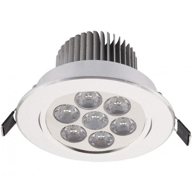 NOWODVORSKI 6823 | Downlight-LED Nowodvorski zabudovateľné svietidlo sklápacie Ø108mm 1x LED 770lm 4000K biela