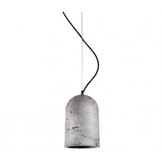 NOWODVORSKI 6855 | Lava Nowodvorski visiace svietidlo 1x E27 sivé, čierna