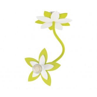 NOWODVORSKI 6897 | Flowers Nowodvorski stenové, stropné svietidlo flexibilné 1x GU10 zelená, biela