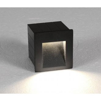 NOWODVORSKI 6907 | Step Nowodvorski zabudovateľné svietidlo 1x LED 310lm 3000K IP44 grafit