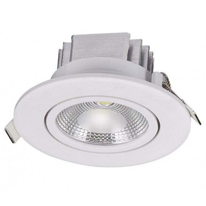 NOWODVORSKI 6971 | Ceiling-COB Nowodvorski zabudovateľné svietidlo sklápacie Ø85mm 1x LED 380lm 3000K biela