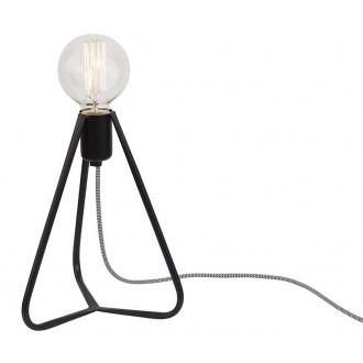 NOWODVORSKI 6975 | SimpleN Nowodvorski stolové svietidlo 28cm prepínač na vedení 1x E27 čierna