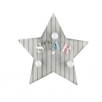 NOWODVORSKI 9293 | Toy-star Nowodvorski stenové, stropné svietidlo 3x E14 sivé, farebné