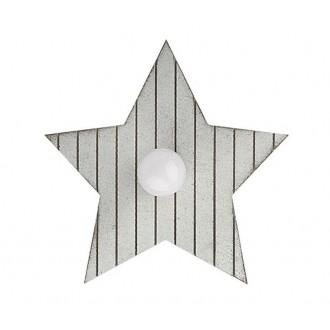 NOWODVORSKI 9376 | Toy-star Nowodvorski stenové, stropné svietidlo 1x E14 sivé