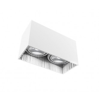 NOWODVORSKI 9383 | Groove Nowodvorski stropné svietidlo 2x GU10 / ES111 biela