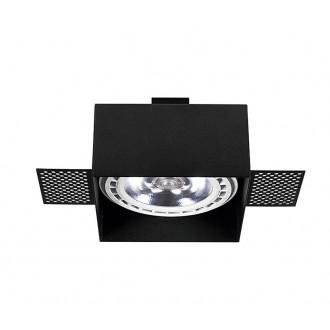 NOWODVORSKI 9404 | Mod_Plus Nowodvorski zabudovateľné - zapustené svietidlo 116x116mm 1x GU10 / ES111 čierna