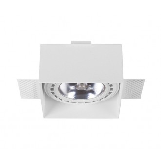 NOWODVORSKI 9408 | Mod-Plus Nowodvorski zabudovateľné - zapustené svietidlo 116x116mm 2x GU10 / ES111 biela