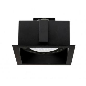 NOWODVORSKI 9417 | Mod Nowodvorski zabudovateľné - zapustené svietidlo 1x GU10 / ES111 čierna