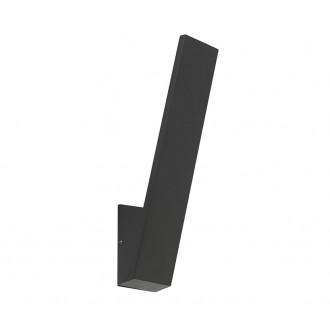 NOWODVORSKI 9421 | Zoa Nowodvorski rameno stenové svietidlo 1x LED 795lm 3000K IP54 čierna