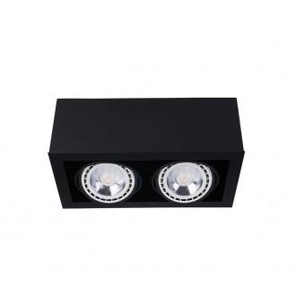 NOWODVORSKI 9470 | BoxN Nowodvorski stropné svietidlo otáčateľný svetelný zdroj 2x GU10 / ES111 čierna