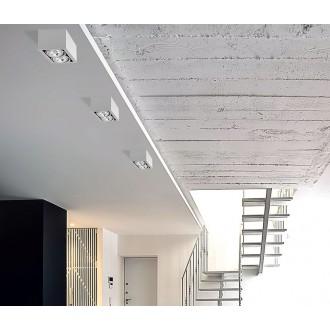 NOWODVORSKI 9472 | BoxN Nowodvorski stropné svietidlo otáčateľný svetelný zdroj 2x GU10 / ES111 biela