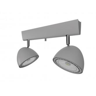 NOWODVORSKI 9488 | Vespa Nowodvorski stenové, stropné svietidlo otočné prvky 2x GU10 / ES111 strieborný