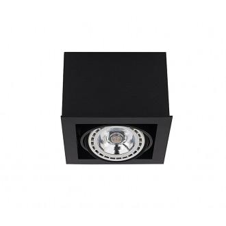 NOWODVORSKI 9495 | BoxN Nowodvorski stropné svietidlo otáčateľný svetelný zdroj 1x GU10 / ES111 čierna