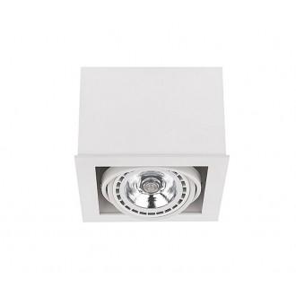 NOWODVORSKI 9497 | BoxN Nowodvorski stropné svietidlo otáčateľný svetelný zdroj 1x GU10 / ES111 biela