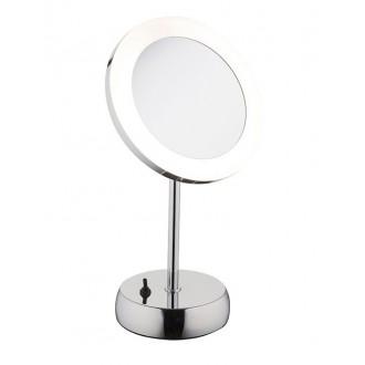 NOWODVORSKI 9504 | Makeup Nowodvorski stolové svietidlo 36cm prepínač otočné prvky 1x LED 43lm 4000K IP44 chróm