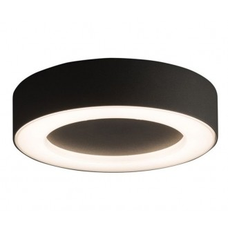 NOWODVORSKI 9514 | Merida Nowodvorski stropné svietidlo 1x LED 538lm 3000K IP54 grafit, biela
