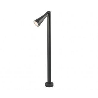 NOWODVORSKI 9563 | OttawaN Nowodvorski stojaté svietidlo 100cm otočné prvky 1x GU10 IP44 grafit