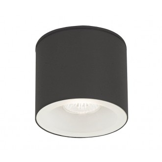 NOWODVORSKI 9565 | Hexa Nowodvorski stropné svietidlo 1x GU10 IP44 grafit, biela