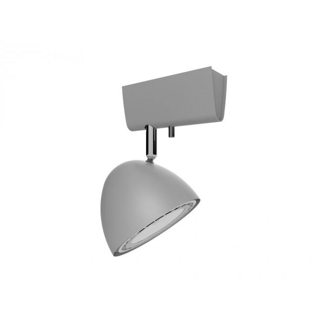 NOWODVORSKI 9590 | Vespa Nowodvorski stenové, stropné svietidlo otočné prvky 1x GU10 / ES111 strieborný