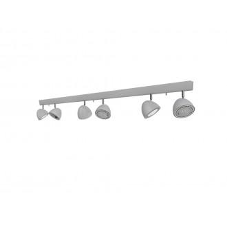 NOWODVORSKI 9591 | Vespa Nowodvorski stenové, stropné svietidlo otočné prvky 6x GU10 / ES111 strieborný
