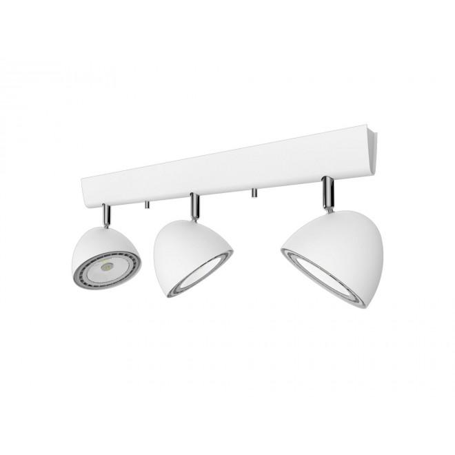 NOWODVORSKI 9592 | Vespa Nowodvorski stenové, stropné svietidlo otočné prvky 3x GU10 / ES111 biela