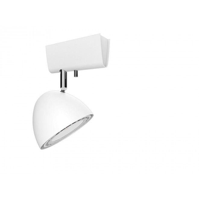 NOWODVORSKI 9594 | Vespa Nowodvorski stenové, stropné svietidlo otočné prvky 1x GU10 / ES111 biela
