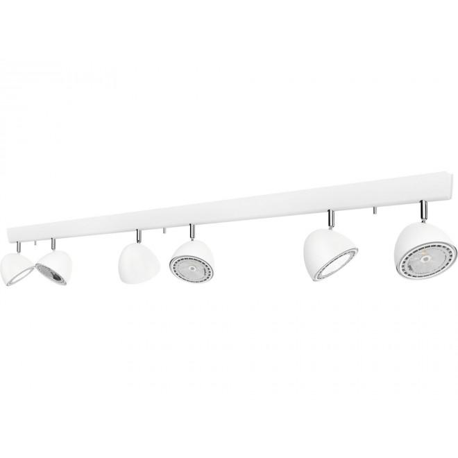 NOWODVORSKI 9595 | Vespa Nowodvorski stenové, stropné svietidlo otočné prvky 6x GU10 / ES111 biela