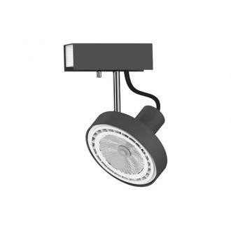 NOWODVORSKI 9598 | Cross Nowodvorski stenové, stropné svietidlo otočné prvky 1x GU10 / ES111 grafit, biela