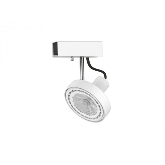NOWODVORSKI 9603 | Cross Nowodvorski stenové, stropné svietidlo otočné prvky 1x GU10 / ES111 biela, grafit