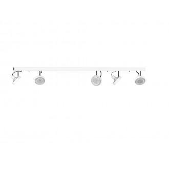 NOWODVORSKI 9604 | Cross Nowodvorski stenové, stropné svietidlo otočné prvky 5x GU10 / ES111 biela, grafit
