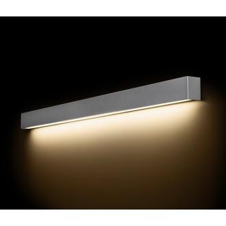NOWODVORSKI 9615 | Straight-LED Nowodvorski stenové svietidlo 1x G13 / T8 1600lm 3000K sivé