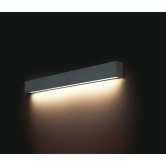 NOWODVORSKI 9617 | Straight-LED Nowodvorski stenové svietidlo 1x G13 / T8 1200lm 3000K grafit
