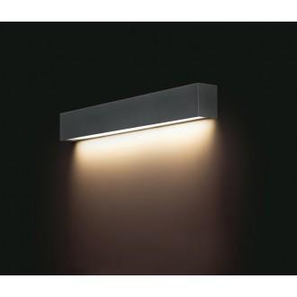 NOWODVORSKI 9618 | Straight-LED Nowodvorski stenové svietidlo 1x G13 / T8 800lm 3000K grafit